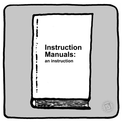 'Instruction Manual Instruction Manual' © Ben Rowe 2014
