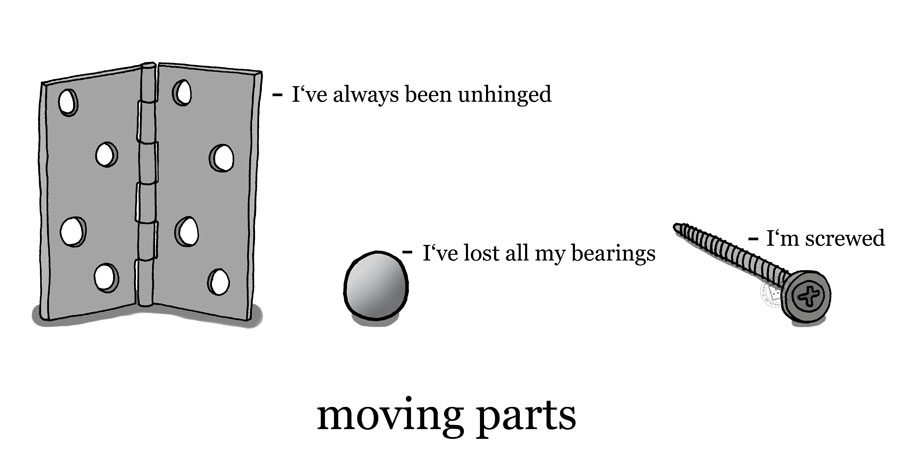 'Moving Parts' © Ben Rowe 2013