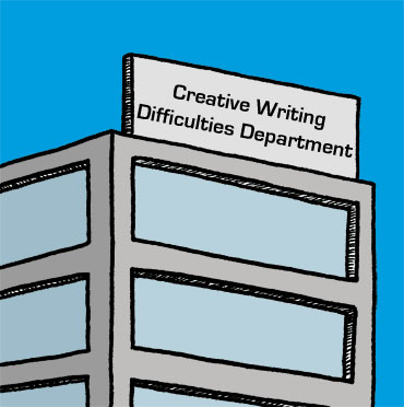 'Writers' Block' © Ben Rowe 2008